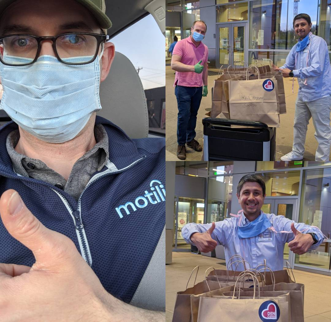MotiliCares Delivers Food to Local Hospital